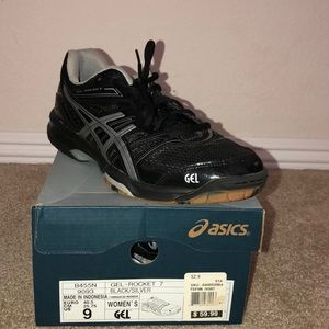 ASICS volley ball shoes